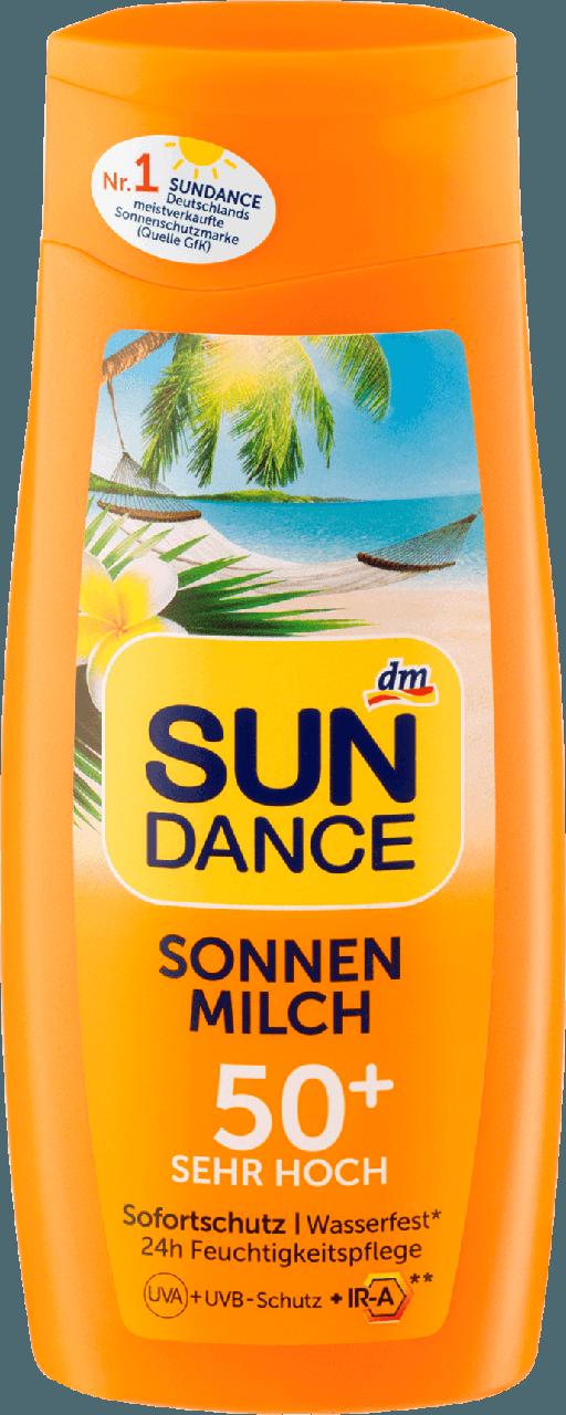 Солнцезащитное молочко SUNDANCE Sonnenmilch SPF +50, 200 мл.