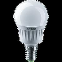 Лампа Navigator 94466 NLL-G45-7-230-2.7 K-E14 світлодіодна,куля,матів.7W,
