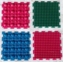 Масажний гумовий килимок від плоскостопості «Пазли-4» (4 шт.)