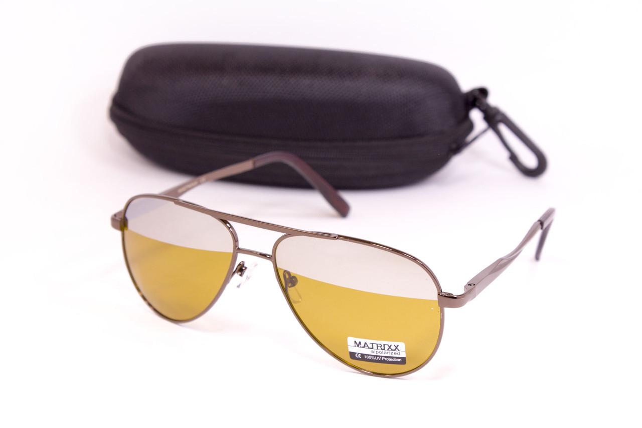 Очки для водителей с футляром F8886-1