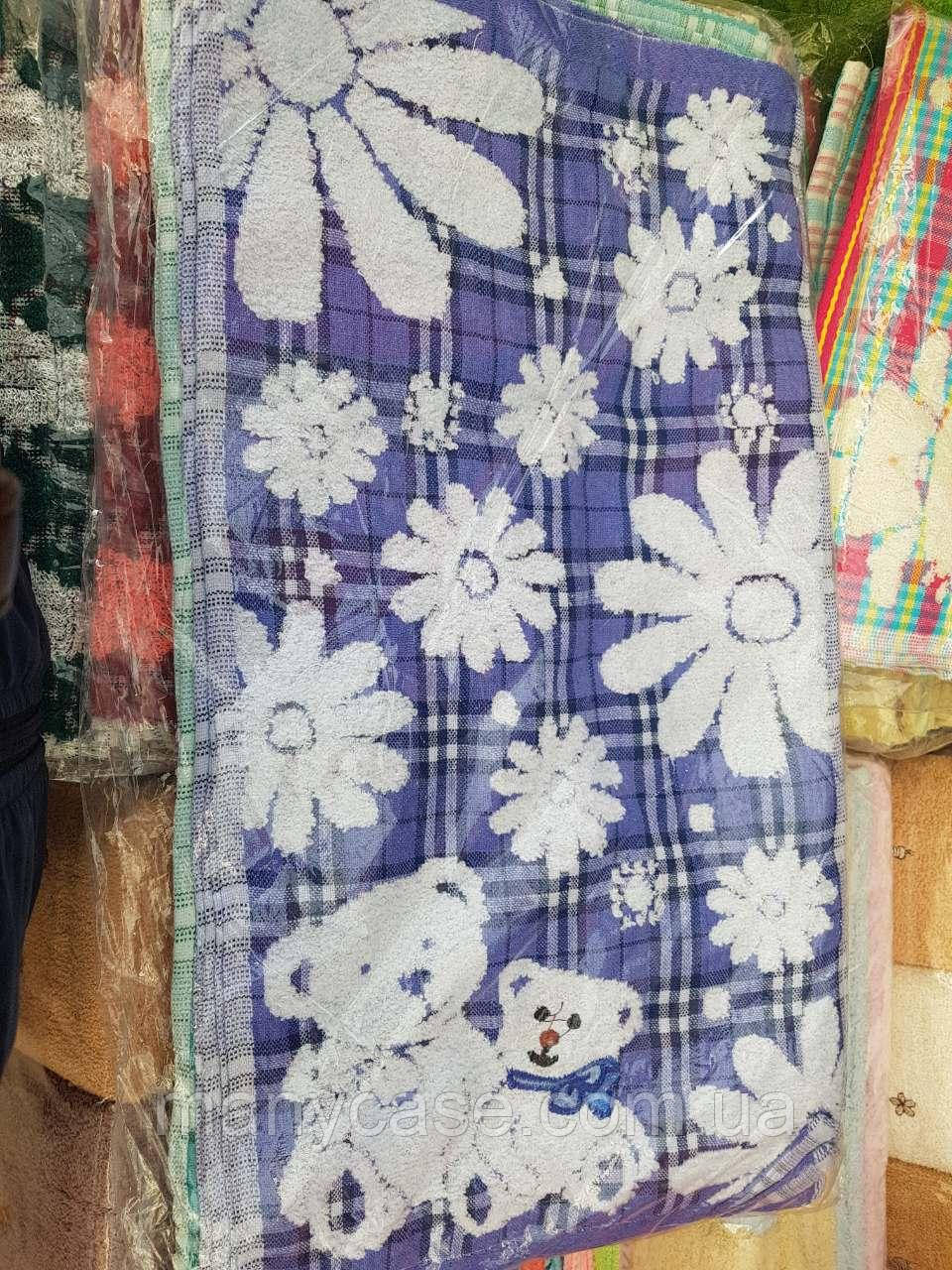Мягкое полотенце для кухни ромашка
