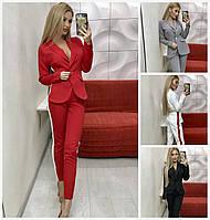 Женский костюм пиджак с брюками 16254, фото 1