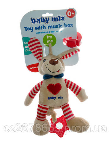 Подвеска музыкальная Песик 7512 Baby Mix