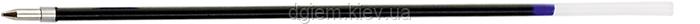 Стержень шариковый 140мм черный