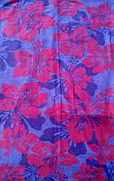 Полотенце пляжное Flowers