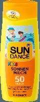 Детское солнцезащитное молочко SUNDANCE KIDS SPF +50, 200 мл.