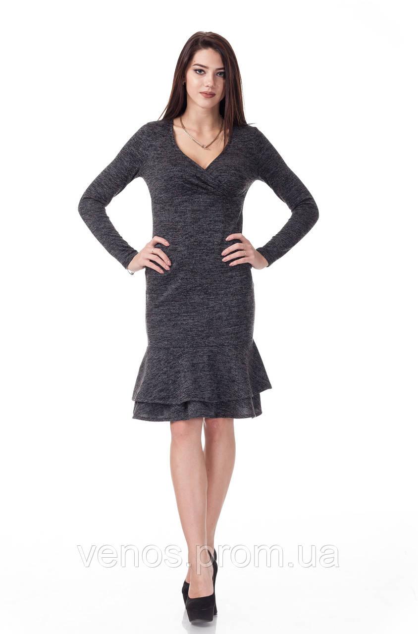Женское платья из ангоры П_106