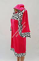 Велюровый женский халат оптом и в розницу, фото 1