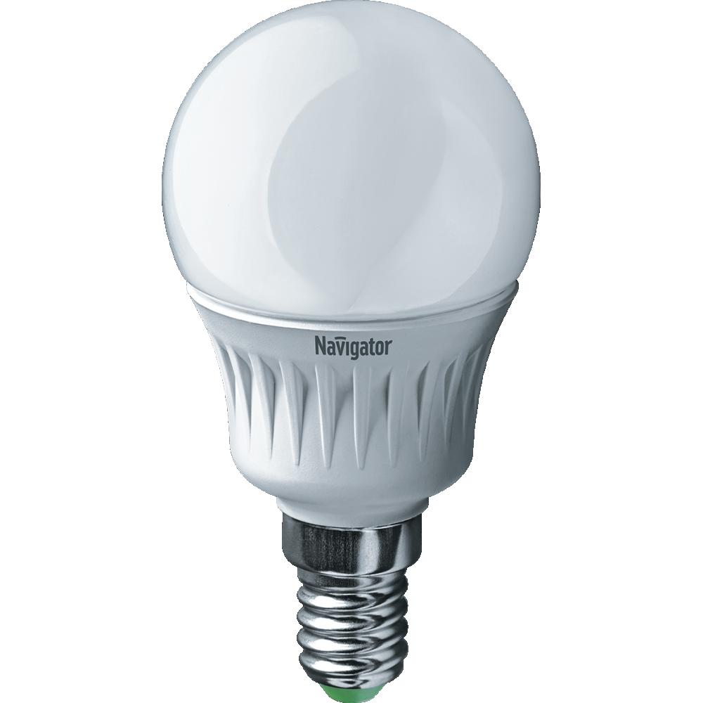 Лампа Navigator 94476 NLL-P-G45-5-230-2.7K-E14 світлодіодна,шар,матов.5W,