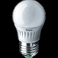 Лампа Navigator 94477 NLL-P-G45-5-230-2.7 K-E27 світлодіодна,куля,матів.5W,
