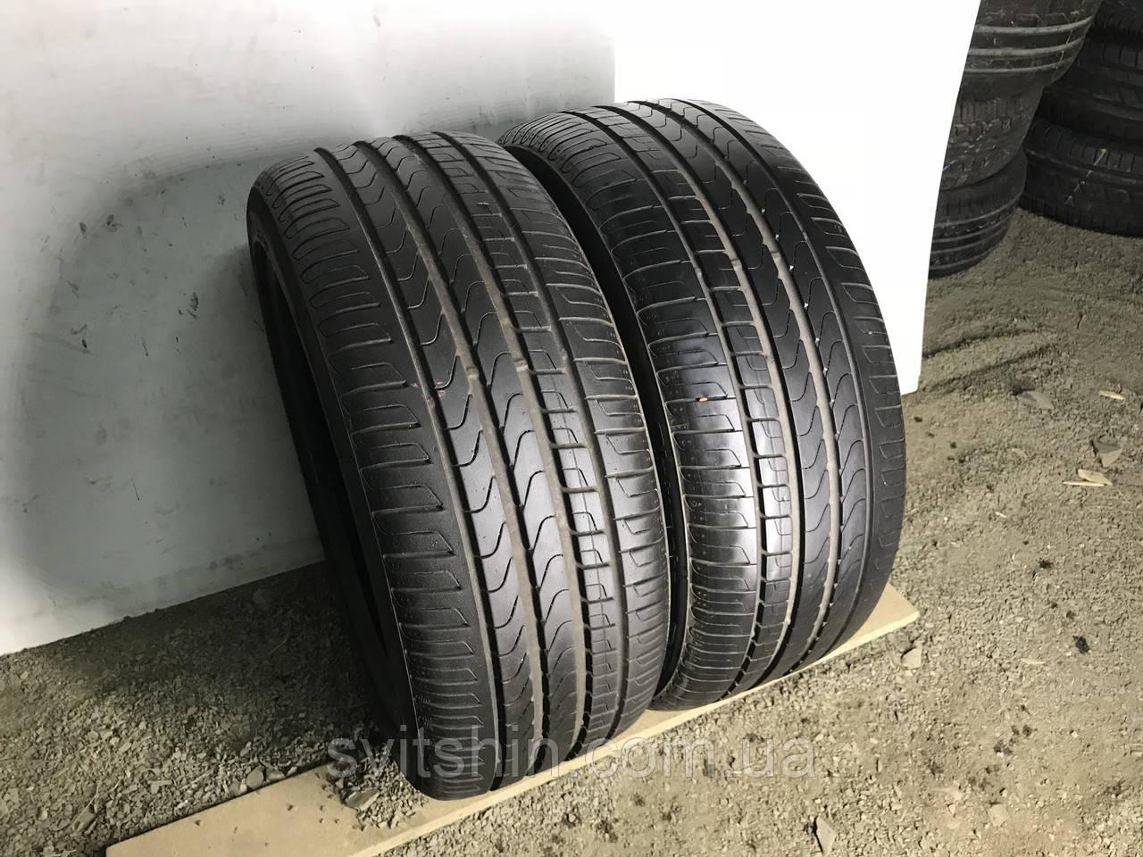 Шины бу лето 235/45R18 Pirelli Cinturato P7 2шт 6мм