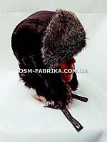 Стильная шапка-ушанка для мужчин новинка сезона