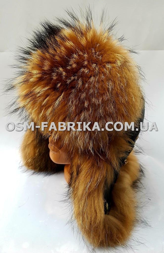 Качественная шапка для мужчин из меха енота хит продаж, фото 1