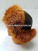 Стильная шапка для мужчин из меха енота оптом и в розницу, фото 1