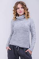 Стильный женский свитер интересной вязки хит продаж