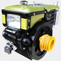 Мотор для мотоблока, Кентавр ДД195ДЭ, стартер, 12 л.с.