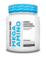 Аминокислоты PROTEIN BUZZ MEGA AMINO 300 таблеток