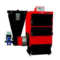 Твердотопливный жаротрубный котел Roda EK3G/S-40 электророзжигом и механической подачей топлива