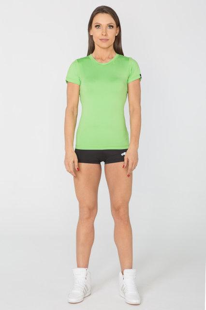 Спортивная женская футболка Radical Capri, зеленая