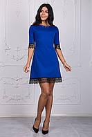 Модное женское платье с ажуром оптом и в розницу