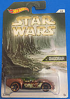 Машинка  Hot Wheels серия Star Wars  Dagobah