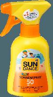 Детский солнцезащитный спрей SUNDANCE KIDS SPF +50, 200 мл.