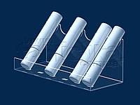Подставка под тушь 185х75 мм, акрил 1,8 мм