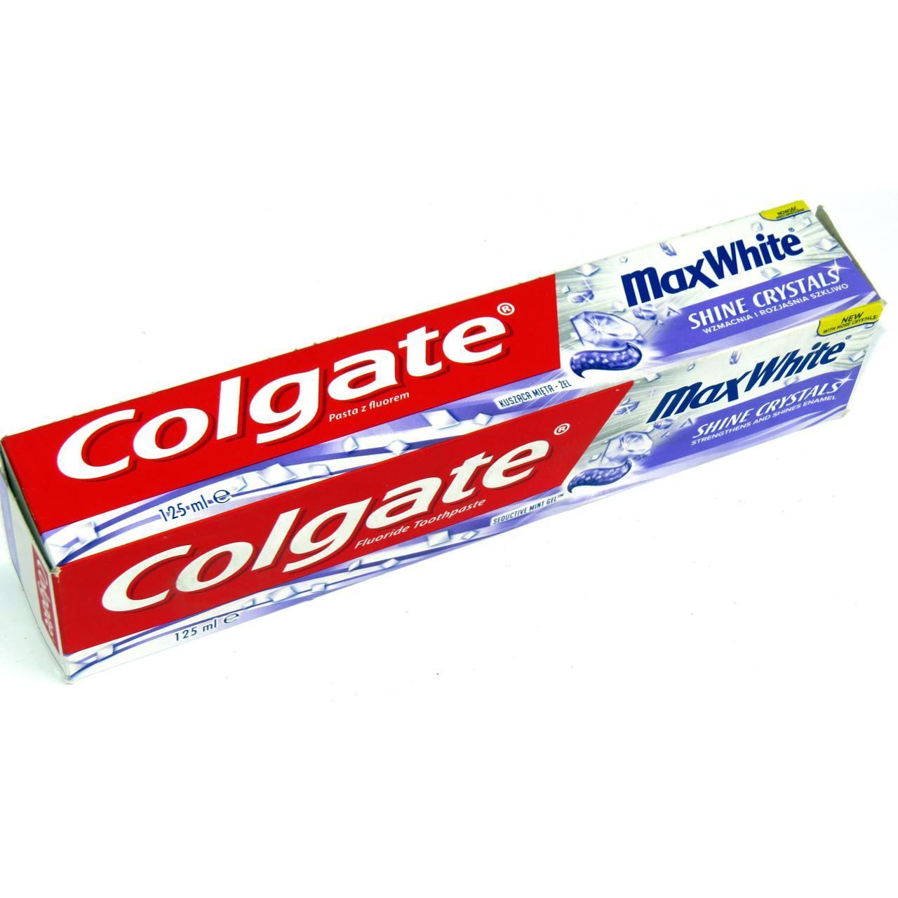 Зубная Паста 125 Мл COLGATE Max White (Код:1436) Состояние: НОВОЕ