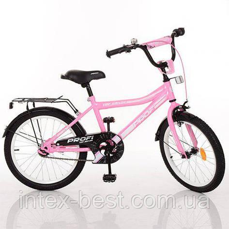"""Двухколесный велосипед Profi Top Grade 20"""" Розовый (Y20106), фото 2"""