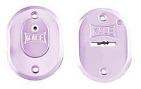 Декоративные накладки под сувальдный ключ Kale 511 хром (Турция)