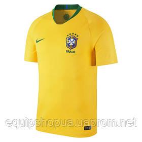 Футбольная форма Сборной Бразилии World Cup 2018 домашняя