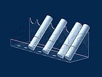 Подставка под тушь 245х75 мм, акрил 1,8 мм