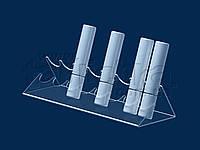 Подставка под тушь 245х50 мм, акрил 1,8 мм