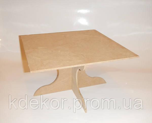 Підставка для торта і капкеков (30х30см.) заготівля для декору