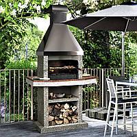 Садовая печь-барбекю Stimlex Steel BMF