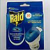 Комплект фумигатор и жидкость без запаха на 30 ночей Raid Рэйд не товарный вид