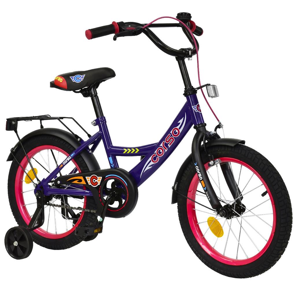 Велосипед CORSO Фиолетовый С-16870