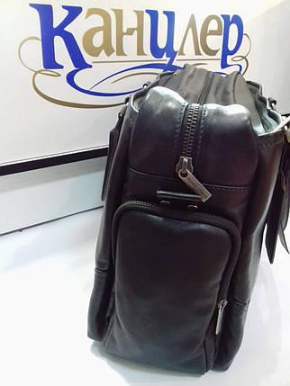 Дорожная сумка из натуральной кожи , фото 2