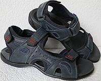 Ессо biom! Детские  сандалии синяя кожа качественная реплика босоножки Экко биом
