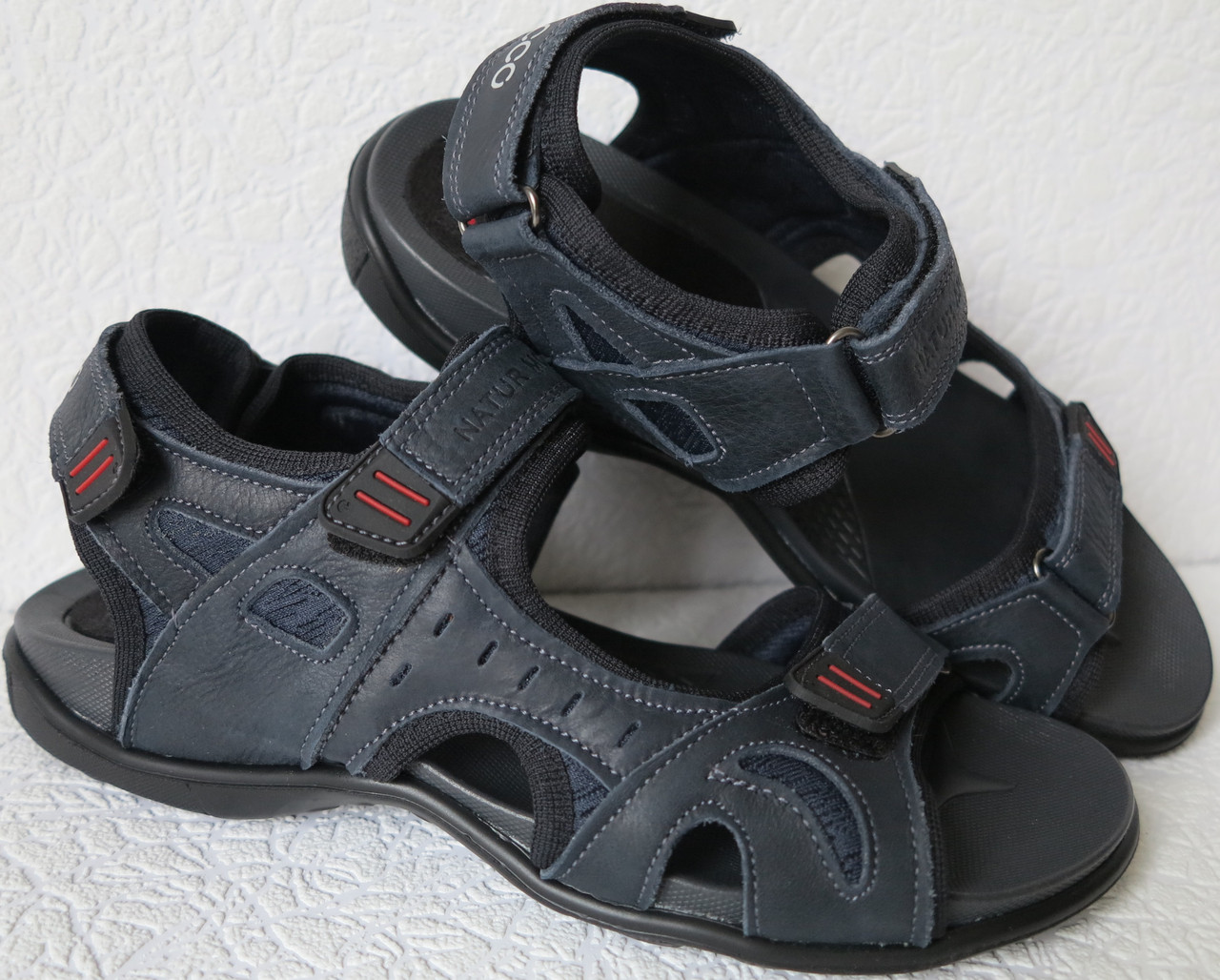 f10cd077c Ессо biom! Детские сандалии синяя кожа качественная реплика босоножки Экко  биом - Trendy-brendy