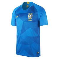 Футбольная форма Сборной Бразилии World Cup 2018 гостевая