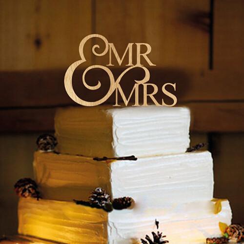 Топер на весільний торт 19