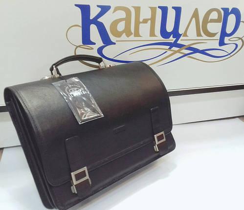 Портфель выполненный из натуральной кожи , фото 2