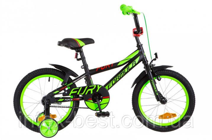 """Велосипед детский двухколесный 16 дюймов FORMULA FURY 16"""" OPS-FRK-16-049, фото 2"""
