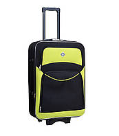 Дорожній валізу на колесах Bonro Style Чорно-салатовий Невеликий