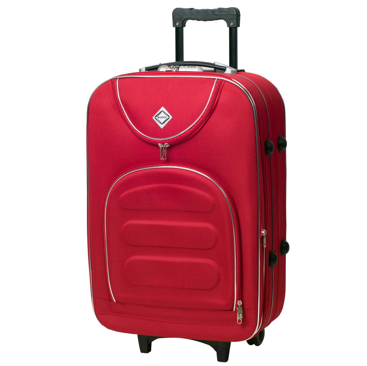 Дорожній валізу на колесах Bonro Lux Невеликий Червоний