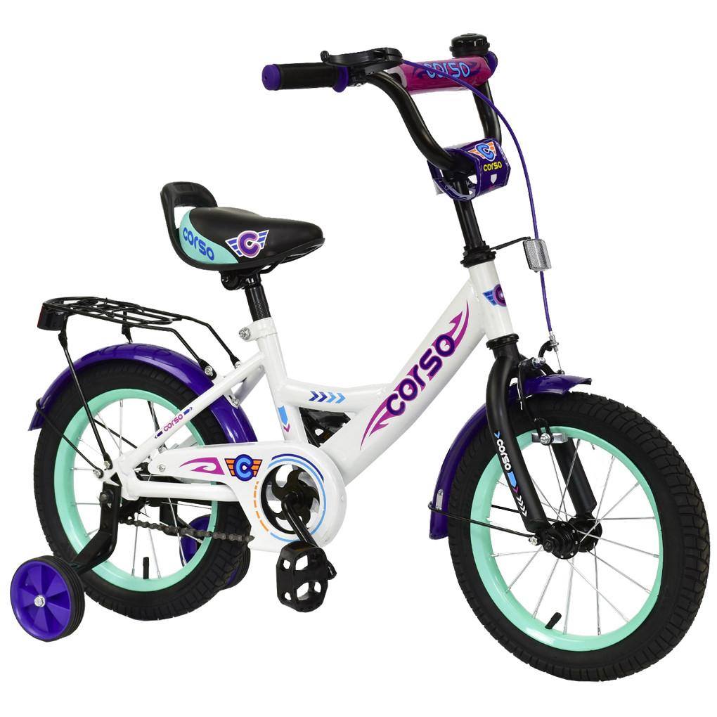 Велосипед CORSO Белый С-14670