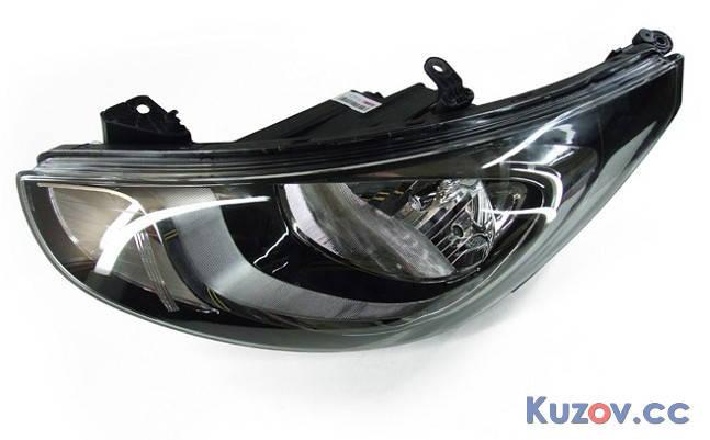 Фара Hyundai Elantra MD 11-15 левая (Depo) электрич. 221-1162L-LDEM2, фото 2