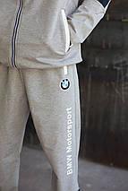 Мужской спортивный костюм Puma BMW Motorsport.GRAY, фото 2
