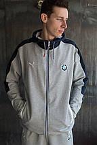Мужской спортивный костюм Puma BMW Motorsport.GRAY, фото 3